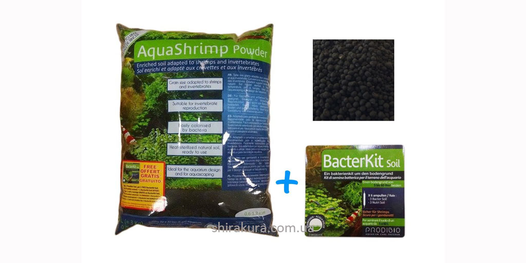 Prodibio AquaShrimp Powder Soil